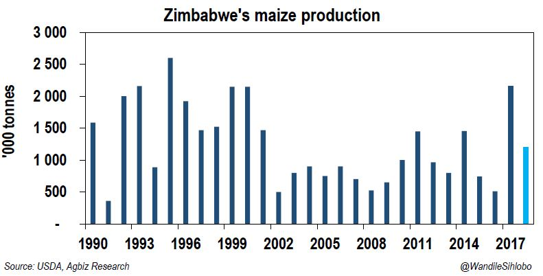 Zimbabwean Government will have to Lift the Maize Import Ban this Year