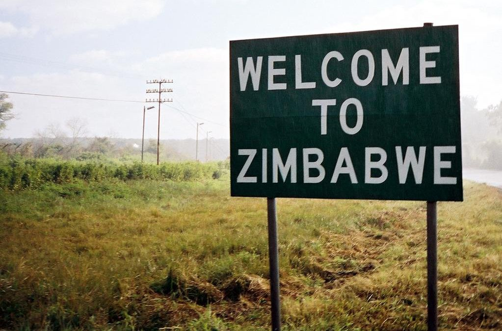 What is going on in Zimbabwe's crop production?