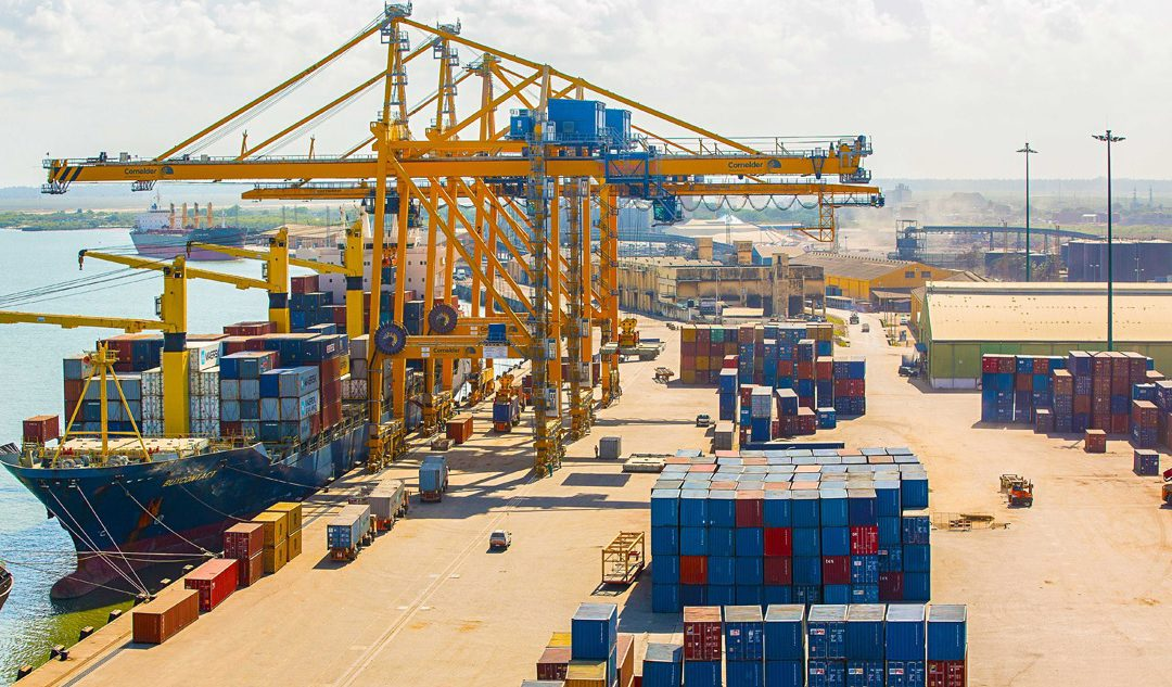 Some positive news out of Mozambique – Ports are fully functional again