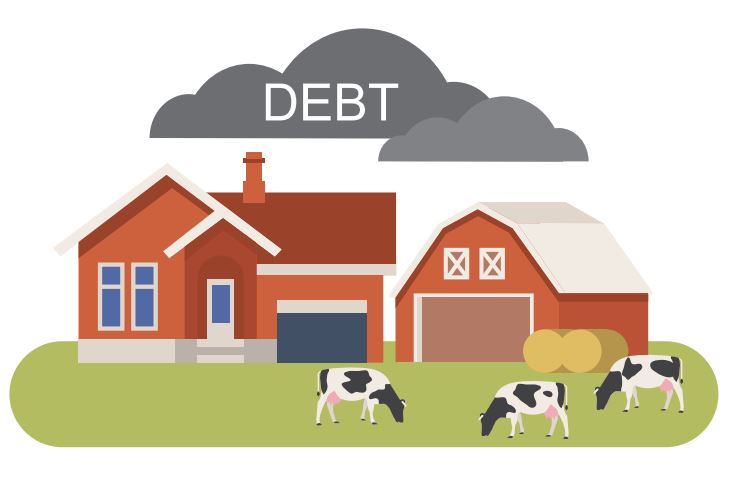 The long shadow of South Africa's farm debt